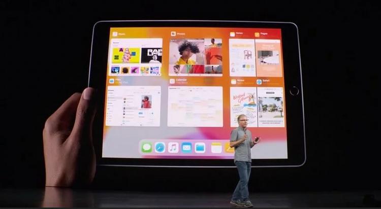 Новый iPad 2019 года-экран
