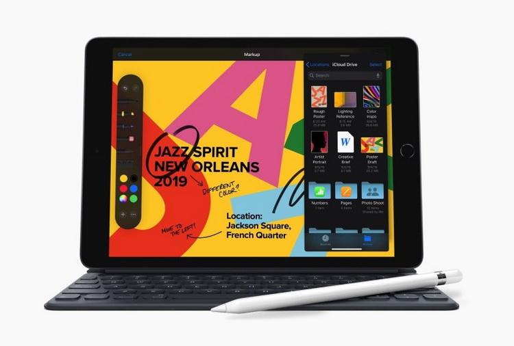 Новый iPad-общий вид
