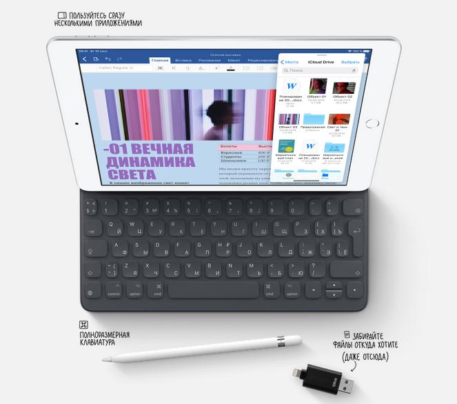 Новый iPad-особенности