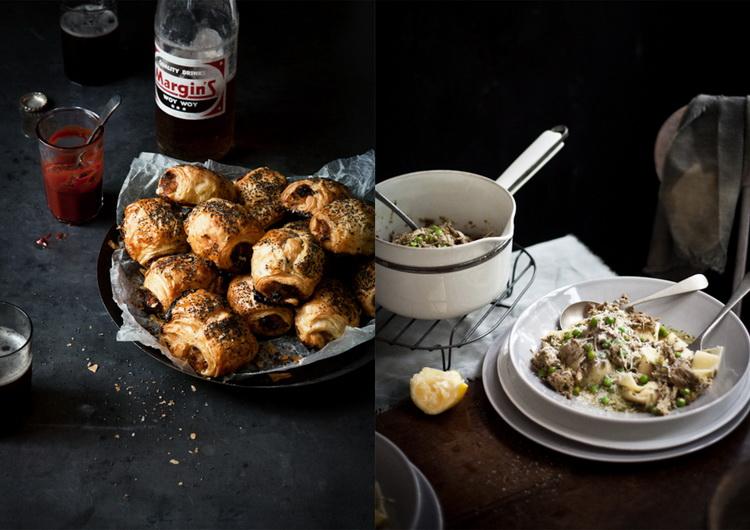 Съемка еды на темном фоне-фуд-тренды