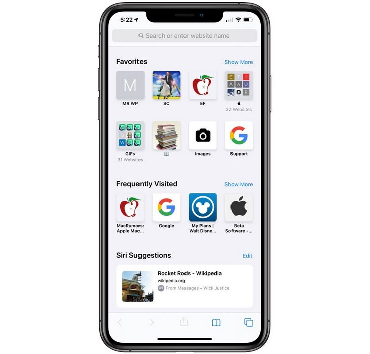 Safari-iOS 13