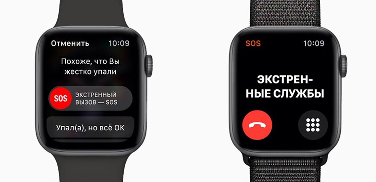 Смарт-часы Apple Watch Series 4 GPS SOS