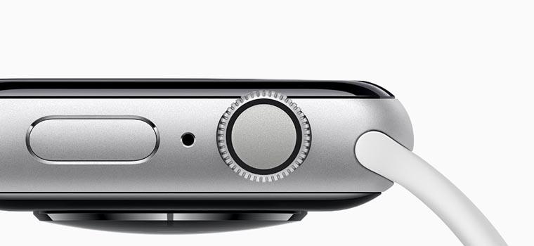 Смарт-часы Apple Watch Series 4 GPS боковая грань