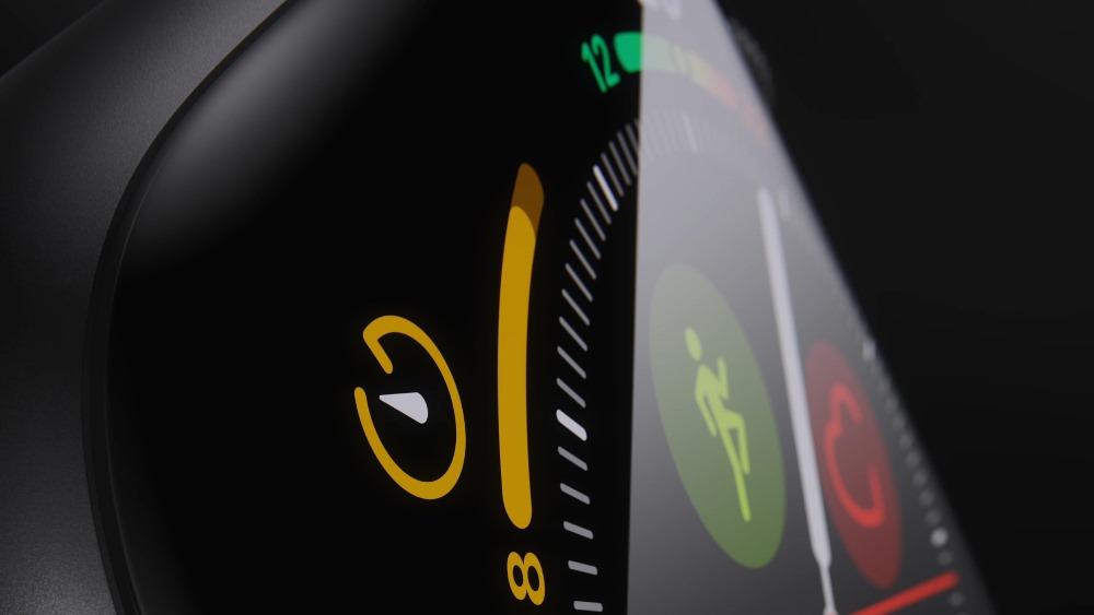 Смарт-часы Apple Watch Series 4 GPS дисплей