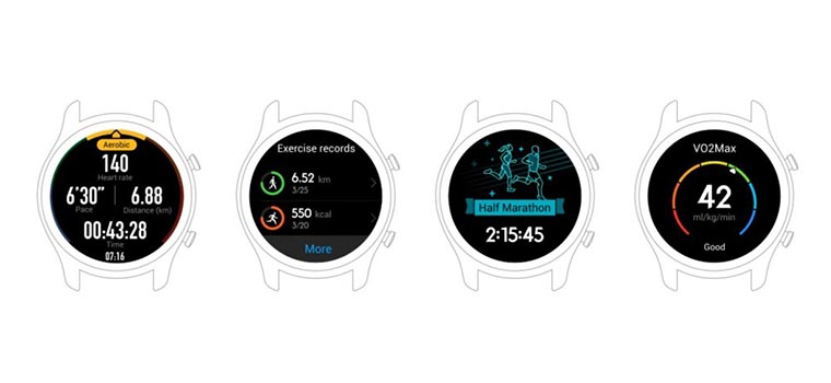 Смарт-часы Huawei Watch GT спортивные режимы