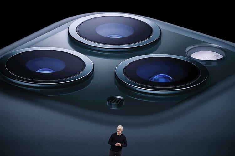 Три камеры-iPhone 11 Pro