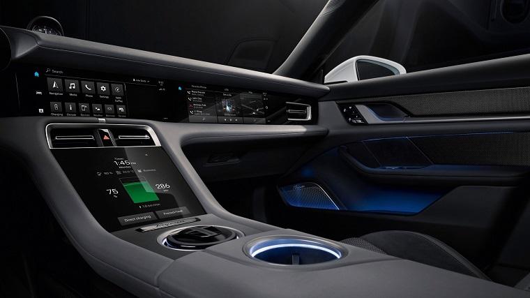 В противовес Tesla - электромобиль Porsche Taycan 4