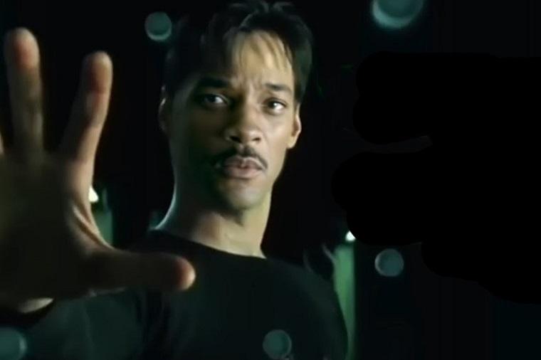 Видео где Нео в Матрице играет Уилл Смит 2