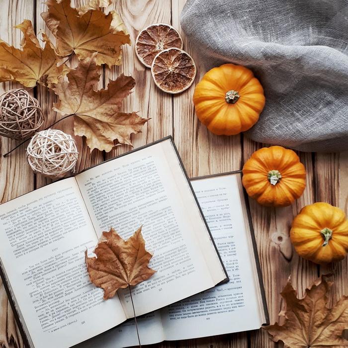 Время чтения-осень