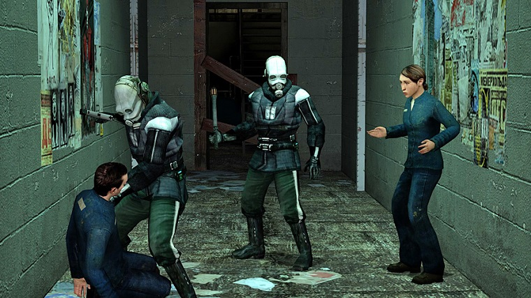 Знаменитая игра Half-Life уже тестируется в VR-версии 4