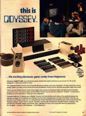 Magnavox Odyssey.