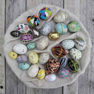 Як оригінально пофарбувати великодні яйця