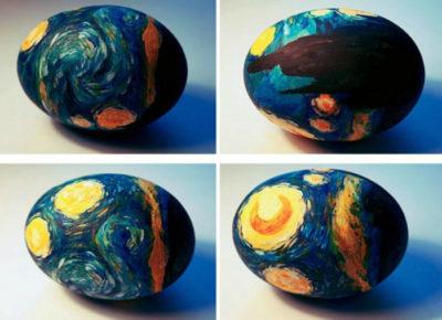 Малюємо на яйцях картини