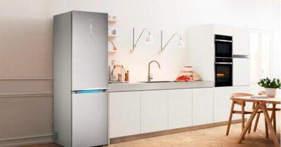 Внутрішнє оснащення холодильників серії RB.
