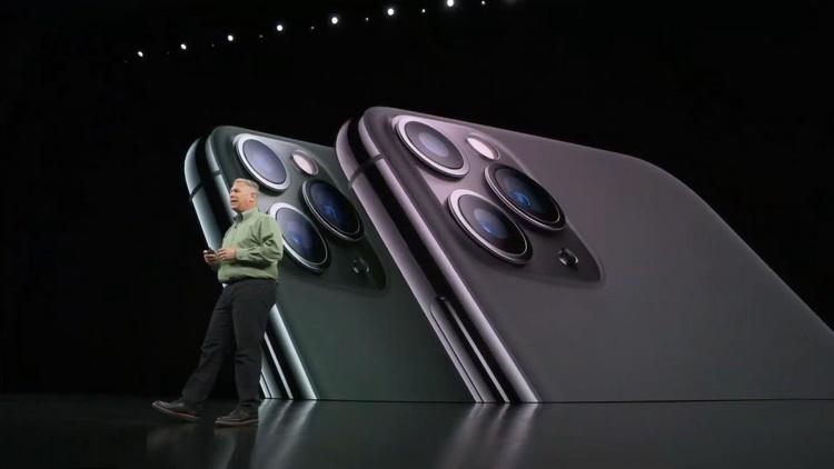 iPhone 11 Pro-фото с презентации