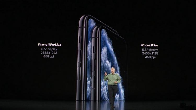 iPhone 11 Pro и 11 Pro Max-фото с презентации