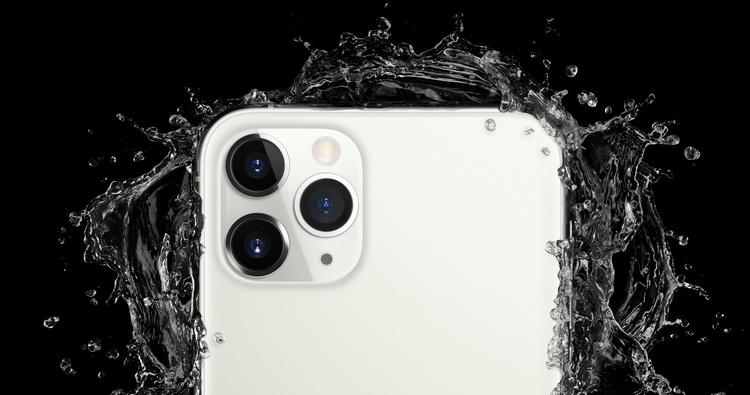iPhone 11 Pro-защита корпуса от влаги