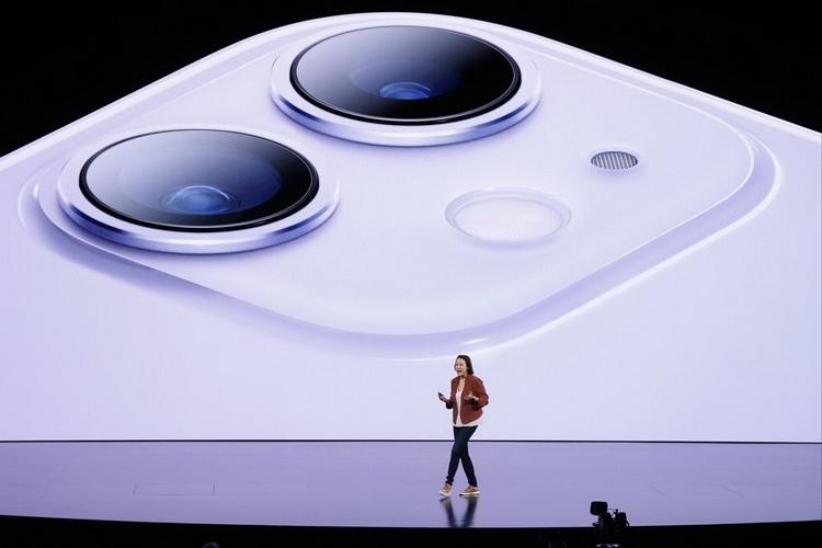 iPhone 11-двойная камера