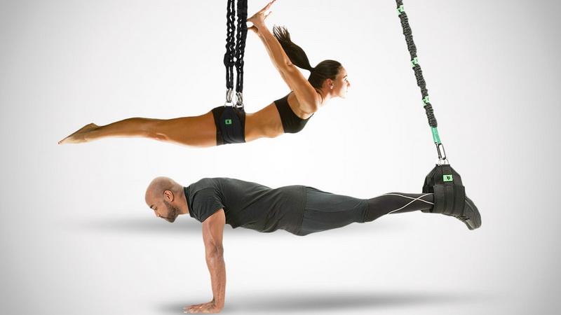 Банджи-фитнес-для двоих