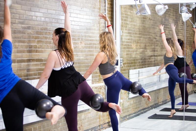 Barre-фитнес с отягощением