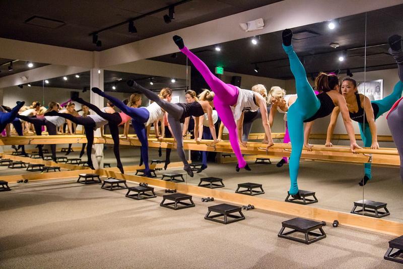 Barre-фитнес-тренировка
