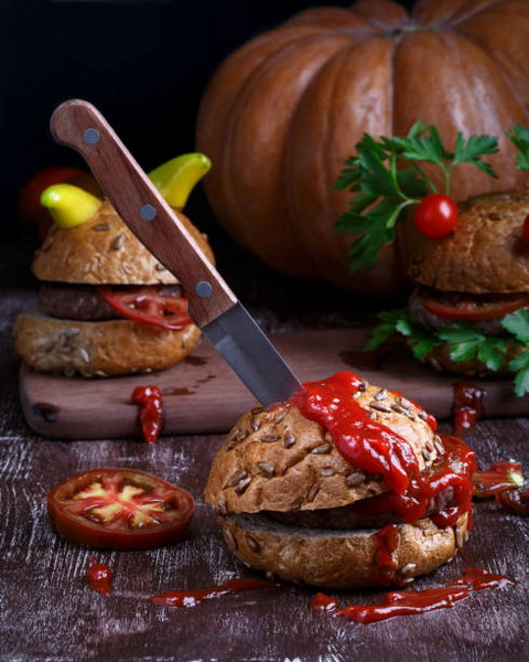 Бургер-кетчуп