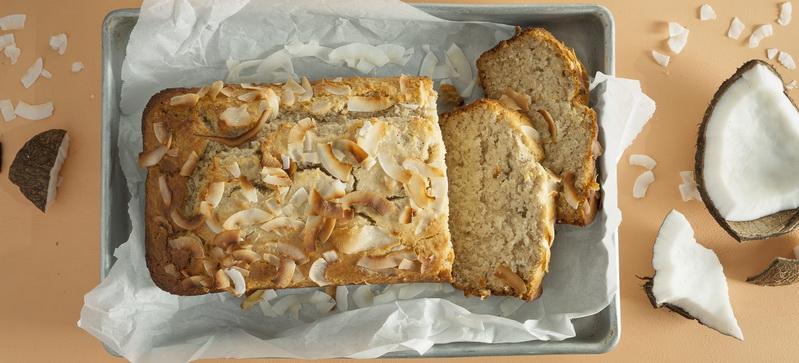 Cinnamon coconut-bread
