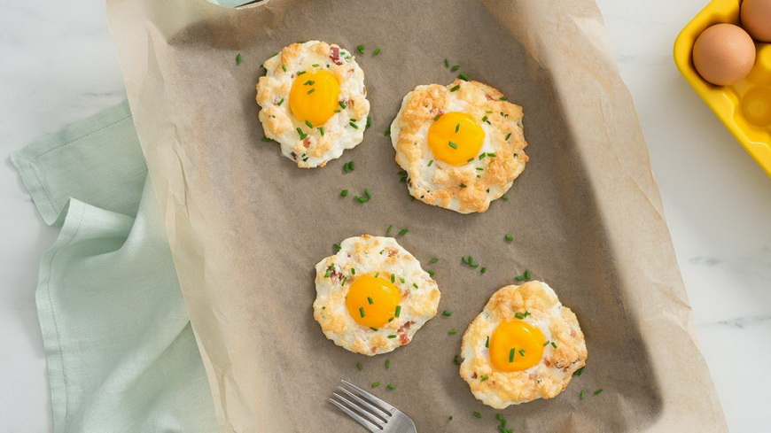 Cloud Eggs-как приготовить