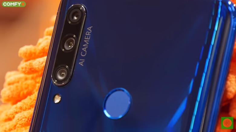 Honor 9X сканер отпечатка пальца