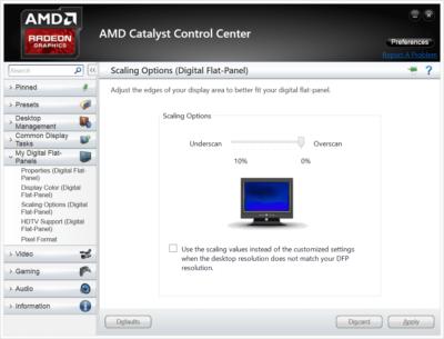 Как настроить видеодрайверы AMD