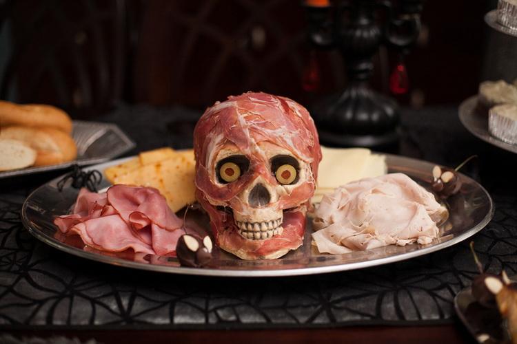 Голова зомби-нарезка