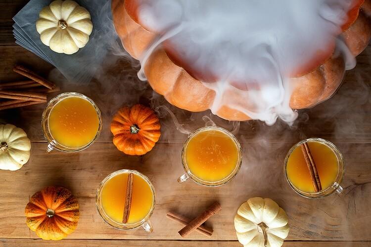 Коктейли-для Хэллоуина