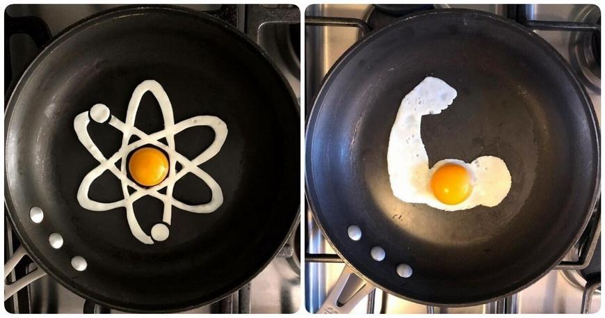 Креативные яичницы-Michele Baldini