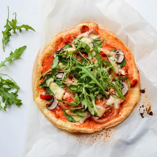Мини-пицца-с облачного хлеба