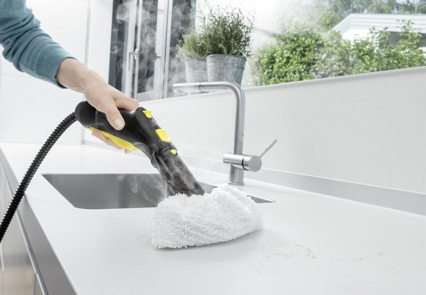 Пар и его польза в бытовой технике - ручной пароочиститель