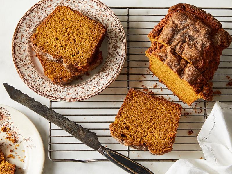 Pumpkin Bread-тыквенный хлеб