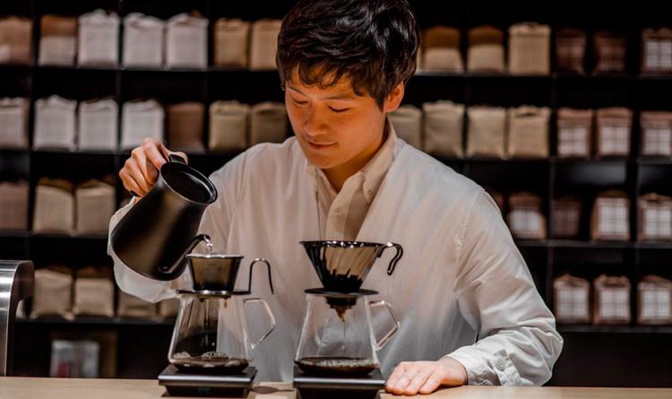 Пуровер-кофе-по-японски приготовление