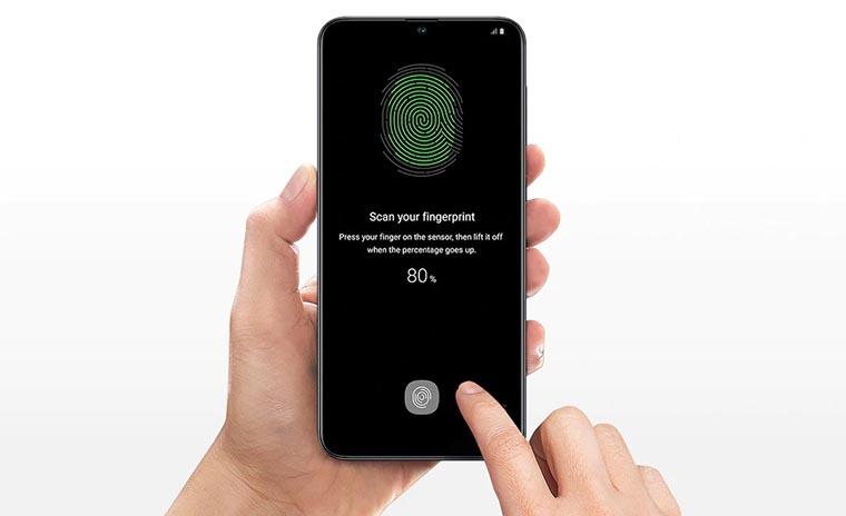Samsung Galaxy A30s сканер
