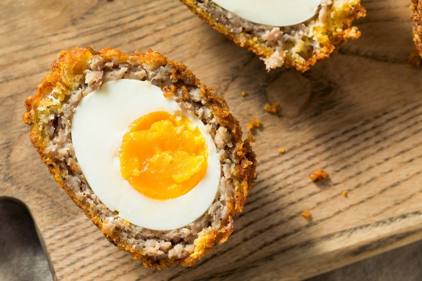Scotch Egg-как приготовить