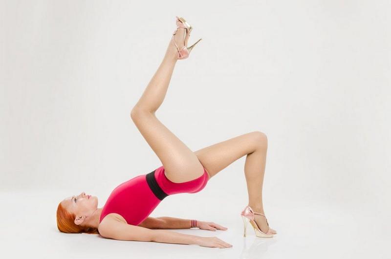 Стилетто-фитнес на шпильках фото