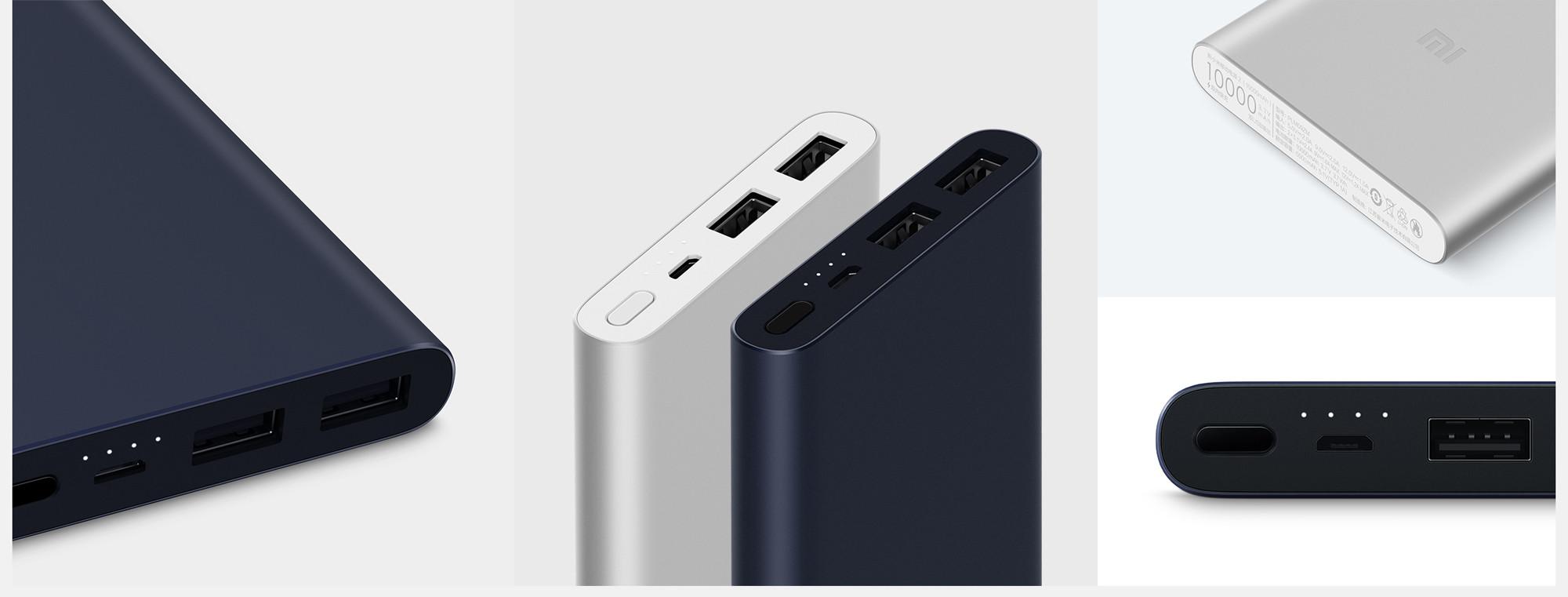 Топ-10 мобильных батарей по версии Comfy. Всегда есть время для подзарядки! - батарея xiaomi в двух цветах