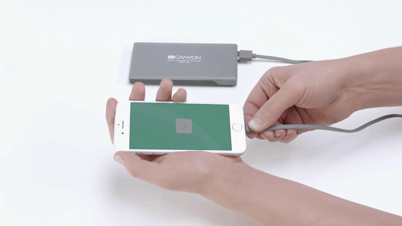 Топ-10 мобильных батарей по версии Comfy. Всегда есть время для подзарядки! - заряжаем смартфон батареей Canyon