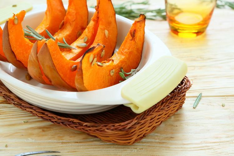 Запеченная тыква-блюда из тыквы