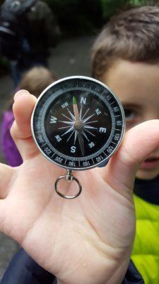компас і діти