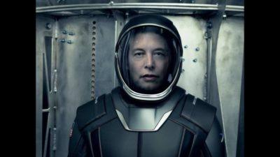 Ілон Маск космонавт.