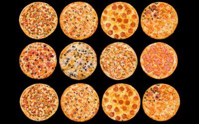 Варіанти начинки для піци