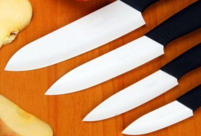 Білий керамічний ніж