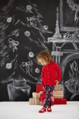 Намальована ялинка для дітей