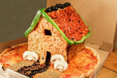 Будиночок з піци