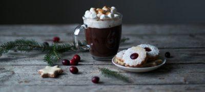 Подача шоколадного напою